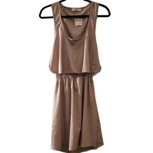 NWT! Issi Womens Brown Fully Lined Casual Dress L